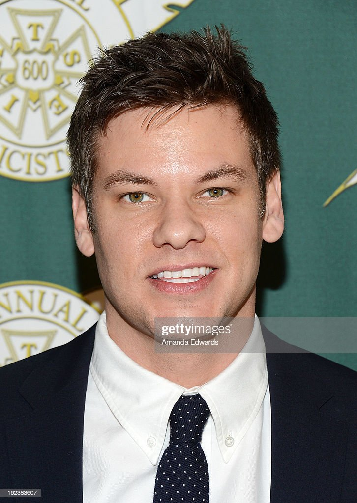 Comedian Theo Von arrives at the ICG 50th Annual Publicists Awards at The Beverly Hilton Hotel on February 22, 2013 in Beverly Hills, California.
