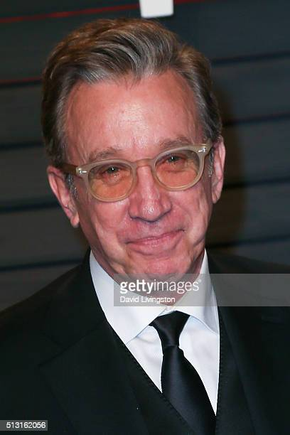 Comedian Tim Allen arrives at the 2016 Vanity Fair Oscar Party Hosted by Graydon Carter at the Wallis Annenberg Center for the Performing Arts on...