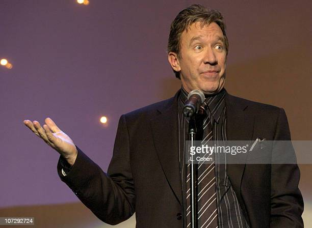 Comedian Tim Allen during 13th Annual 'Cool Comedy Hot Cuisine' Benefit for Scleroderma Research Inside/Show at The Regent Beverly Wilshire Hotel in...