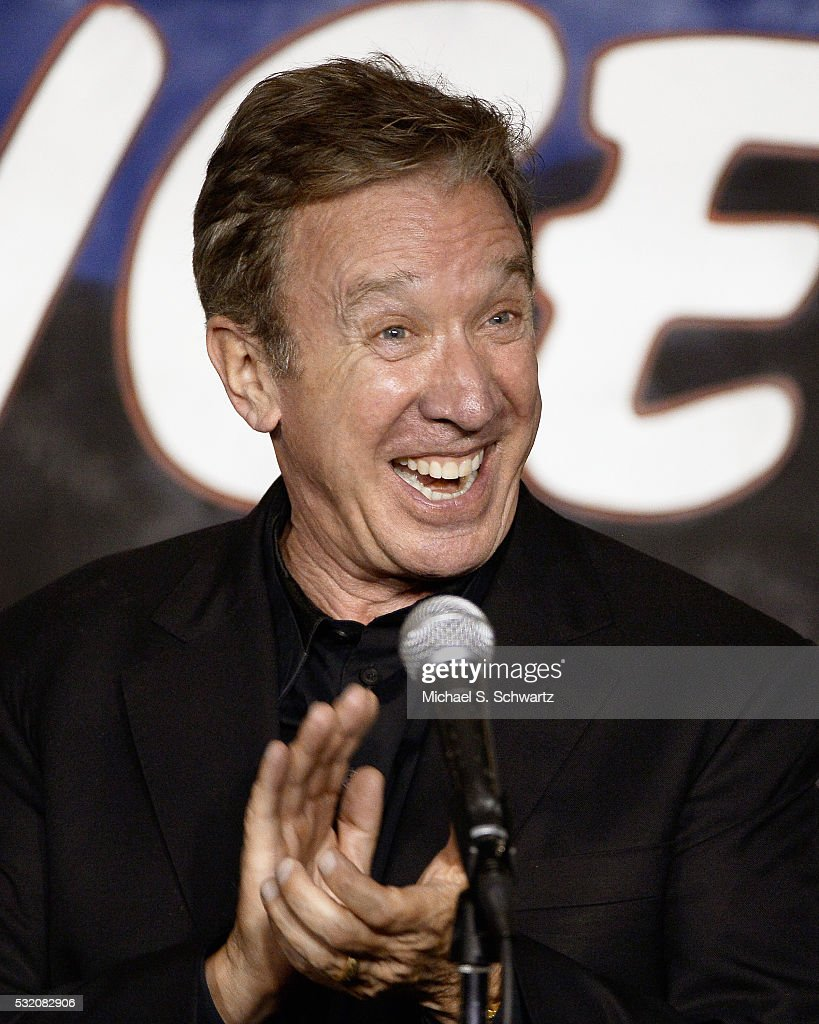 Comedian Tim Allen performs during his appearance at The Ice House Comedy Club on May 17, 2016 in Pasadena, California.