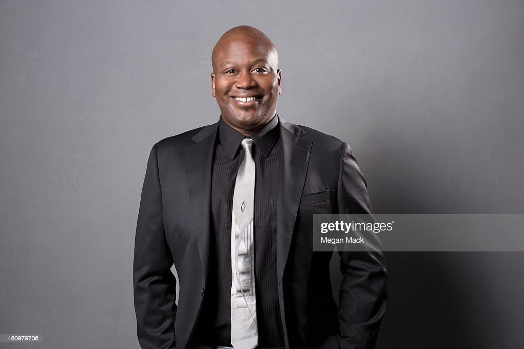 Comedian Tituss Burgess poses for a portrait at the Logo TV's 'Trailblazers' at the Cathedral of St John the Divine on June 25 2015 in New York City