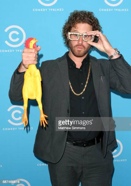 Comedian TJ Miller of 'The Gorburger Show' attends Comedy Central's LA Press Day at Viacom Building on May 23 2017 in Los Angeles California