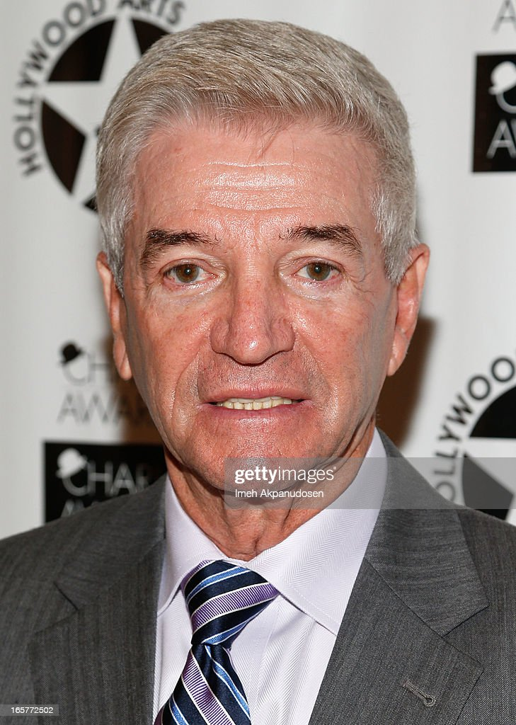 Comedian Tom Dreesen attends Hollywood Arts Council's 27th Annual Charlie Awards Luncheon at Hollywood Roosevelt Hotel on April 5, 2013 in Hollywood, California.