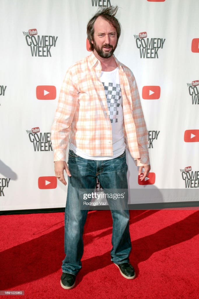 Comedian <a gi-track='captionPersonalityLinkClicked' href=/galleries/search?phrase=Tom+Green&family=editorial&specificpeople=208982 ng-click='$event.stopPropagation()'>Tom Green</a> arrives at the YouTube Comedy Week Presents 'The Big Live Comedy Show' at Culver Studios on May 19, 2013 in Culver City, California.