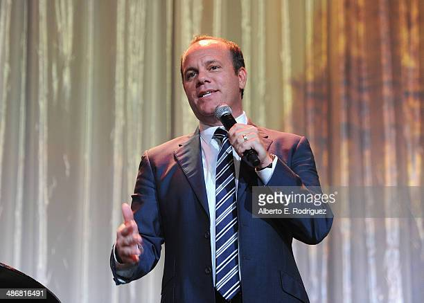 Comedian Tom Papa attend the Jonsson Cancer Center Foundation's 19th Annual 'A Taste For A Cure' at The Regent Beverly Wilshire Hotel on April 25...