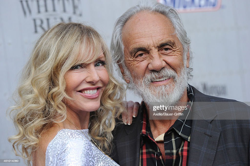 Comedian <a gi-track='captionPersonalityLinkClicked' href=/galleries/search?phrase=Tommy+Chong&family=editorial&specificpeople=221475 ng-click='$event.stopPropagation()'>Tommy Chong</a> (R) and wife <a gi-track='captionPersonalityLinkClicked' href=/galleries/search?phrase=Shelby+Chong&family=editorial&specificpeople=710990 ng-click='$event.stopPropagation()'>Shelby Chong</a> arrive at Spike TV's 'Guys Choice' Awards at Sony Studios on June 7, 2014 in Los Angeles, California.