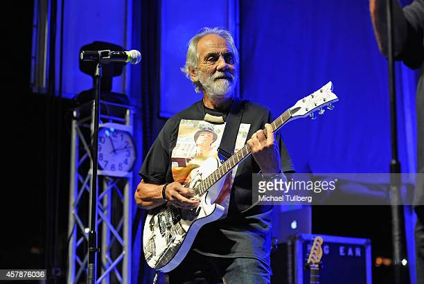Comedian Tommy Chong of Cheech Chong performs at Festival Supreme at The Shrine Expo Hall on October 25 2014 in Los Angeles California