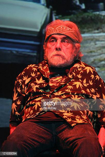 Comedian Tommy Chong of Cheech Chong performs live for their first tour in over 25 years on September 12 2008 at the Tower Theater in Upper Darby...
