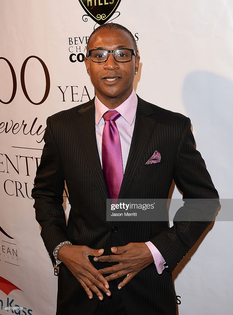 Comedian Tommy Davidson attends the