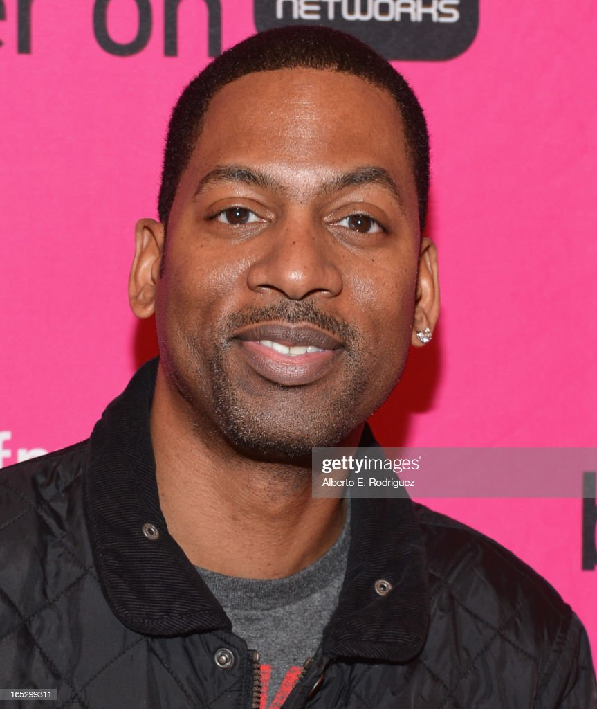 Comedian <a gi-track='captionPersonalityLinkClicked' href=/galleries/search?phrase=Tony+Rock&family=editorial&specificpeople=221570 ng-click='$event.stopPropagation()'>Tony Rock</a> attends the BET Networks' 2013 Los Angeles Upfront at Montage Beverly Hills on April 2, 2013 in Beverly Hills, California.