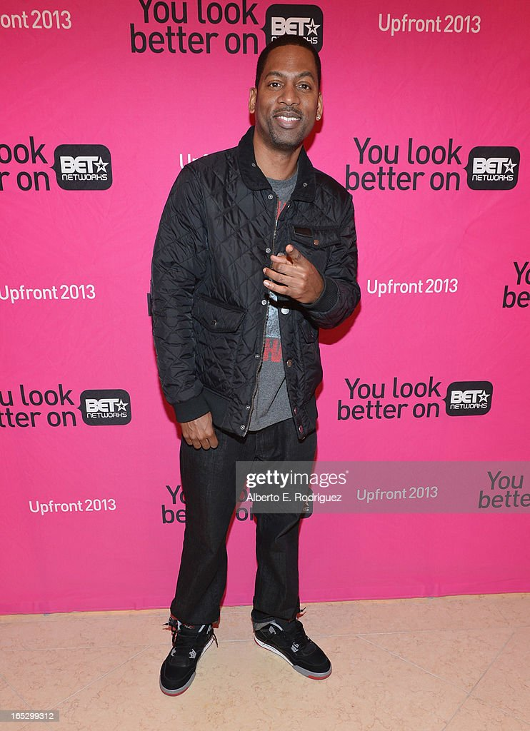 Comedian Tony Rock attends the BET Networks' 2013 Los Angeles Upfront at Montage Beverly Hills on April 2, 2013 in Beverly Hills, California.
