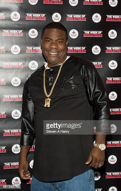 Comedian Tracy Morgan attends the 4th Annual Week of Greatness Kickoff at The Wooly on November 17 2015 in New York City