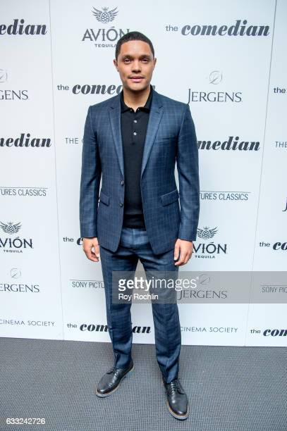 Comedian Trevor Noah attends a Screening Of Sony Pictures Classics' 'The Comedian' at Museum of Modern Art on January 31 2017 in New York City
