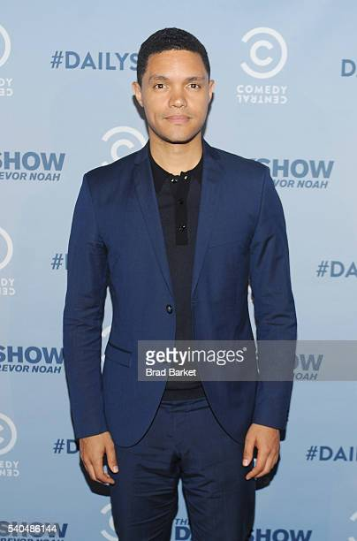 Comedian Trevor Noah attends FYC The Daily Show with Trevor Noah at Paley Center For Media on June 15 2016 in New York City