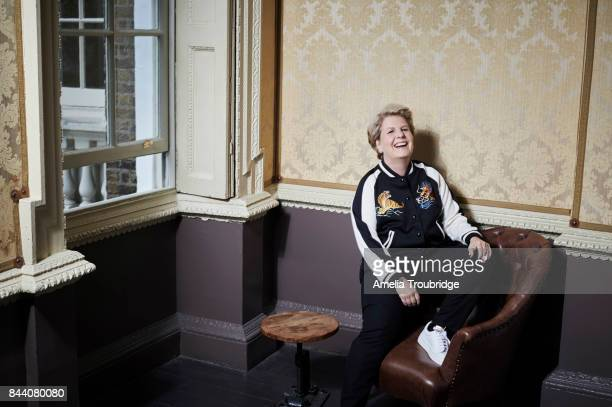 Comedian tv presenter and campaigner Sandi Toksvig is photographed on September 2 2016 in London England