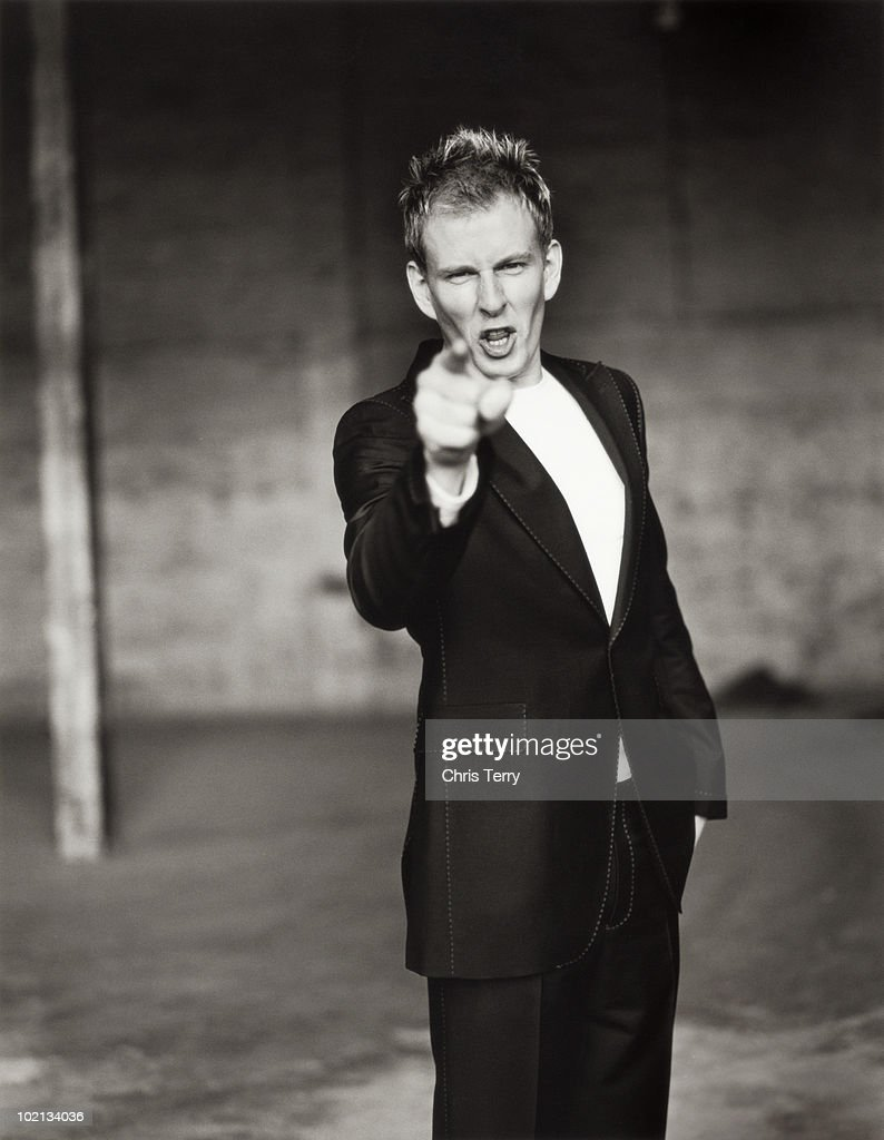 Comedian & tv presenter Patrick Kielty poses for a portrait shoot in London May 6, 2005.