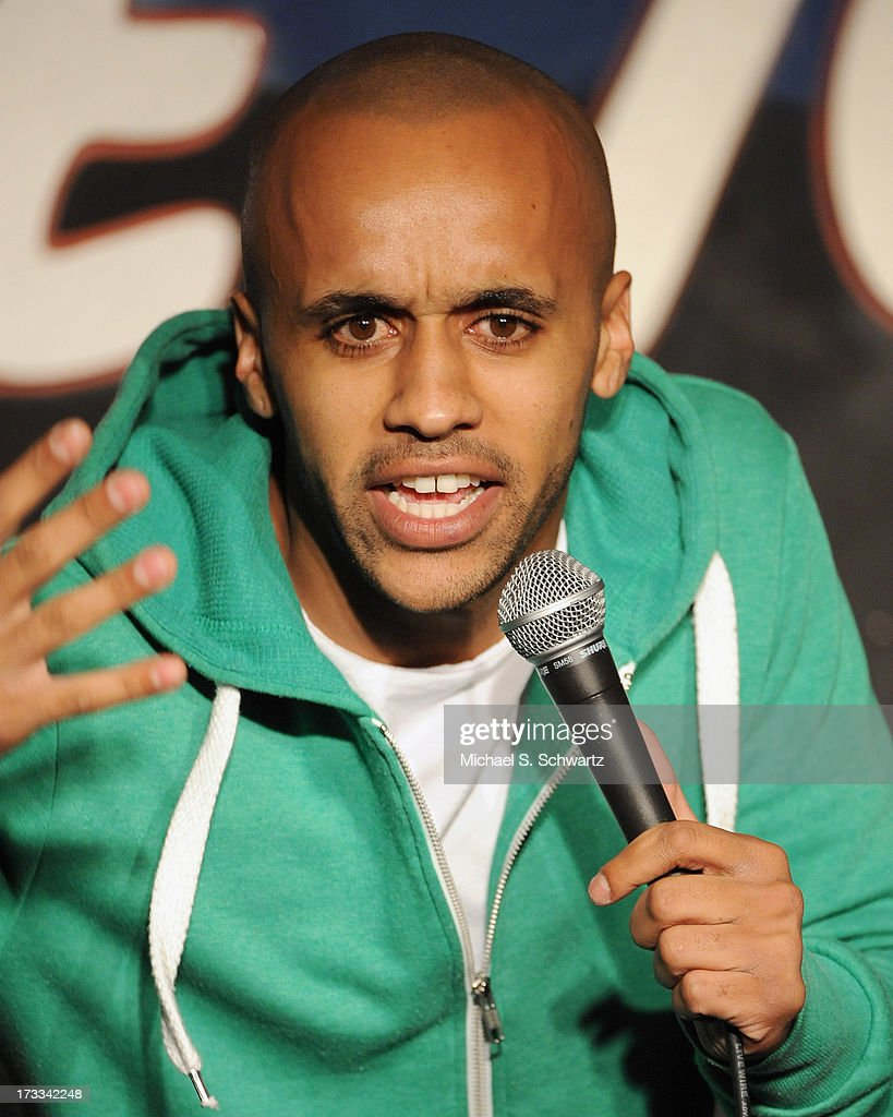 Comedian Tyler Warner performs during his appearance at The Ice House Comedy Club on July 11, 2013 in Pasadena, California.