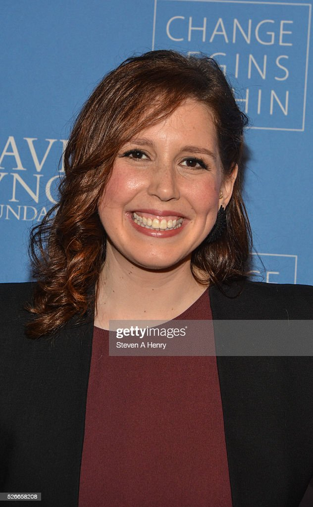 Comedian Vanessa Bayer attends 'An Amazing Night Of Comedy: A David Lynch Foundation Benefit For Veterans With PTSD' at New York City Center on April 30, 2016 in New York City.