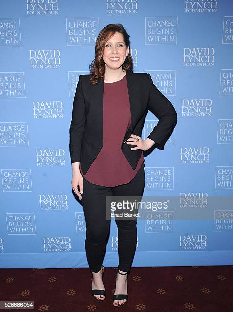Comedian Vanessa Bayer attends An Amazing Night Of Comedy A David Lynch Foundation Benefit For Veterans With PTSD at New York City Center on April 30...