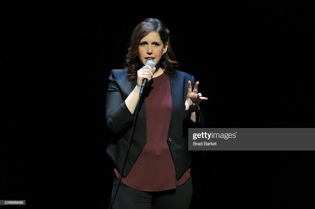 Comedian Vanessa Bayer attends An Amazing Night Of Comedy: A David Lynch Foundation Benefit For Veterans With PTSD at New York City Center on April 30, 2016 in New York City.