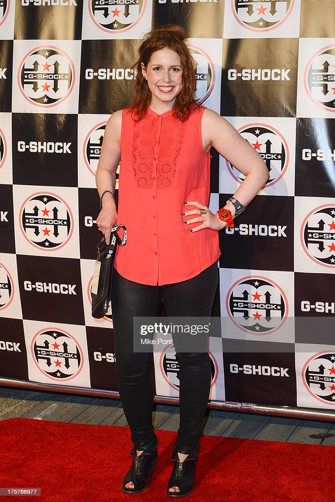 Comedian Vanessa Bayer attends G-Shock - Shock The World 2013 at Basketball City - Pier 36 - South Street on August 7, 2013 in New York City.