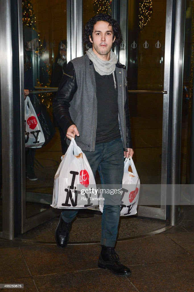 Celebrity Sightings In New York City - December 11, 2013