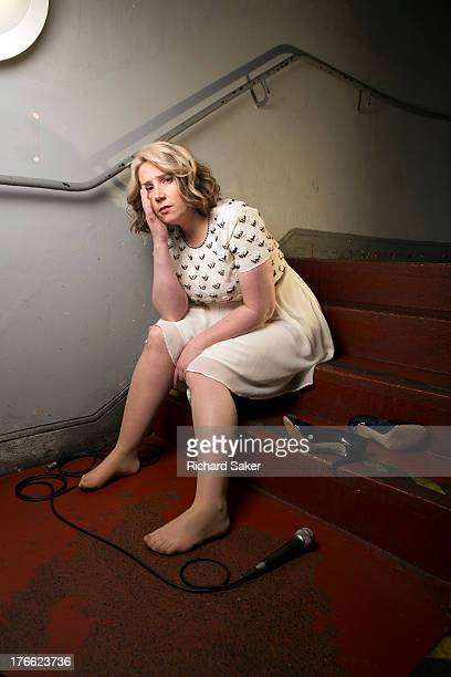 Comedian Viv Groskop is photographed for the Observer on May 30 2013 in London England