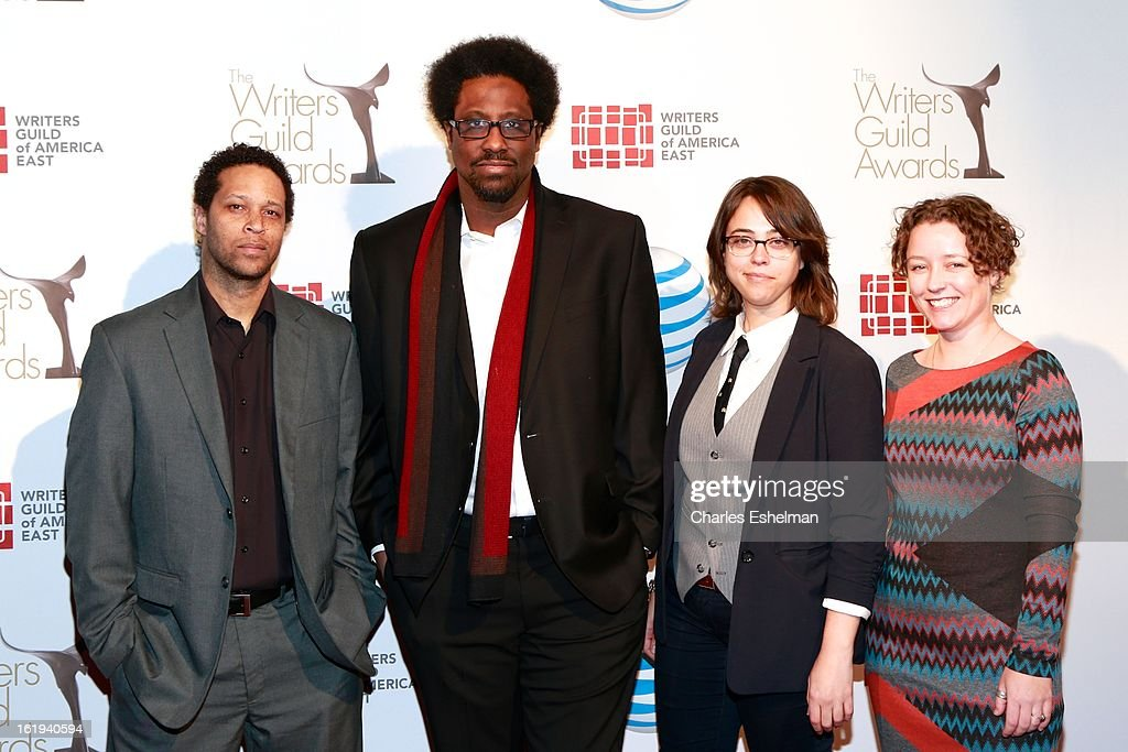 Comedian W. Kamau Bell attends the 65th Annual Writers Guild East Coast Awards at B.B. King Blues Club & Grill on February 17, 2013 in New York City.