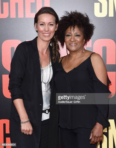 Comedian Wanda Sykes and Alex Sykes arrive at the premiere of 20th Century Fox's 'Snatched' at Regency Village Theatre on May 10 2017 in Westwood...