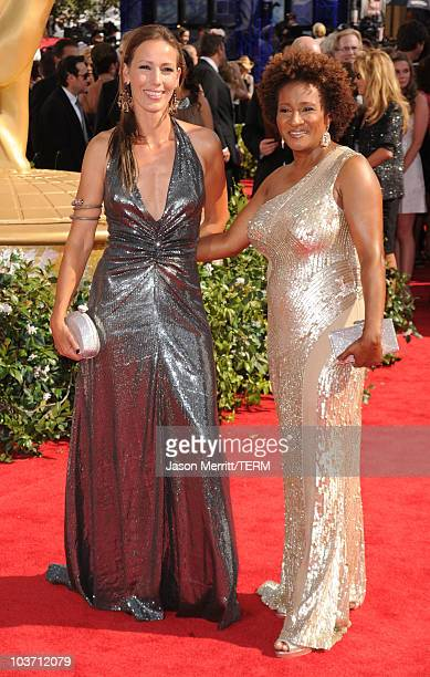 Comedian Wanda Sykes and wife Alex Sykes arrive at the 62nd Annual Primetime Emmy Awards held at the Nokia Theatre LA Live on August 29 2010 in Los...