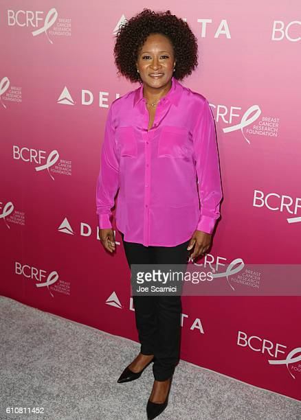Comedian Wanda Sykes attends the 'Breast Cancer One' dinner hosted by Delta Air Lines and The Breast Cancer Research Foundation on September 27 2016...