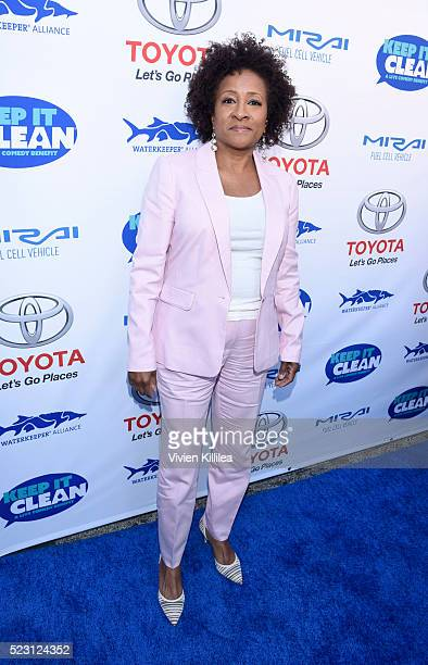 Comedian Wanda Sykes attends the Keep It Clean Comedy Benefit For Waterkeeper Alliance at Avalon on April 21 2016 in Hollywood California