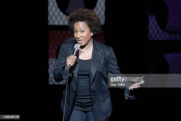 Comedian Wanda Sykes closes out the last night of the Moontower Comedy Oddity Festival at the Paramount Theatre on April 28 2012 in Austin Texas