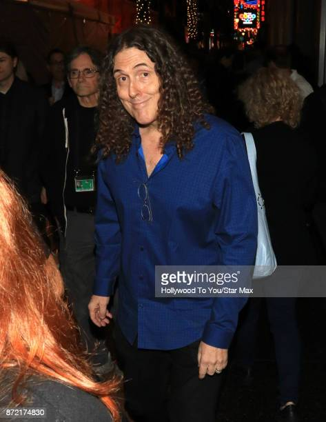 Weird al yankovic 2017 stock photos and pictures getty images comedian weird al yankovic is seen on november 8 2017 in los angeles ca ccuart Images