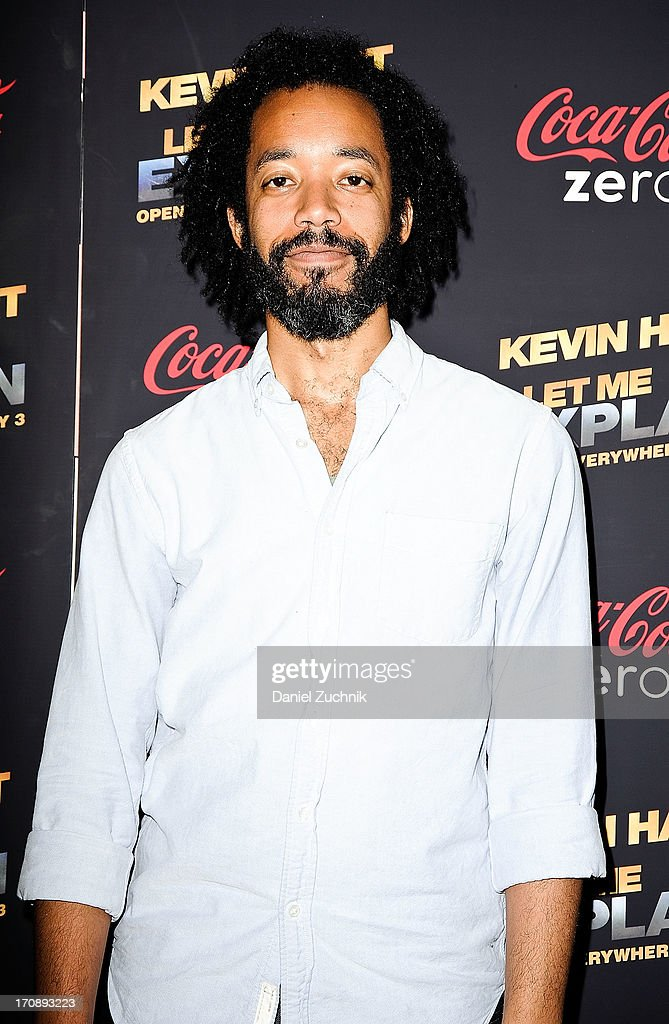 Comedian Wyatt Cenac attends the 'Kevin Hart:Let Me Explain' New York Premiere at Regal Cinemas Union Square on June 19, 2013 in New York City.