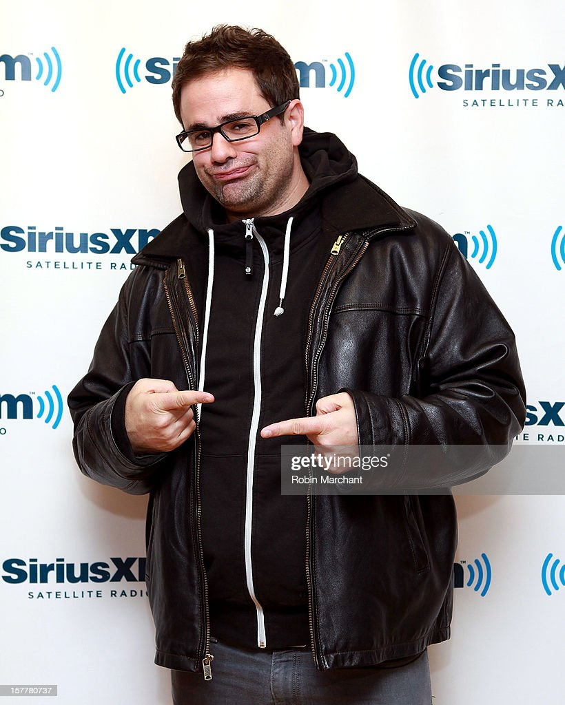 Comedian Yannis Pappas visits the SiriusXM Studios on December 6, 2012 in New York City.