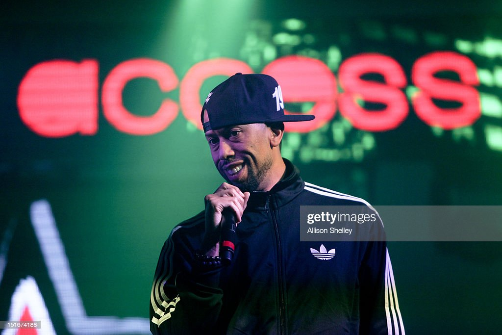 Comedian/Actor <a gi-track='captionPersonalityLinkClicked' href=/galleries/search?phrase=Affion+Crockett&family=editorial&specificpeople=2291583 ng-click='$event.stopPropagation()'>Affion Crockett</a> hosts Heineken Red Star Access D.C. featuring B.o.B. and DJ Ruckus on September 8, 2012 in Washington, D.C.