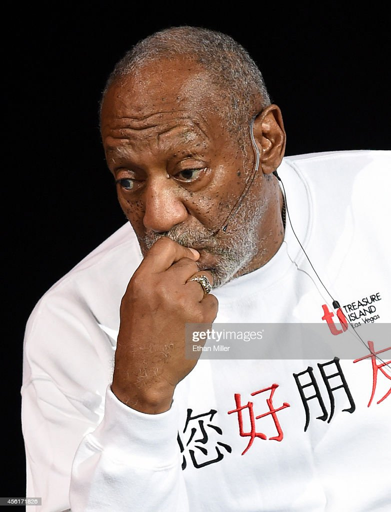 Comedian/actor <a gi-track='captionPersonalityLinkClicked' href=/galleries/search?phrase=Bill+Cosby&family=editorial&specificpeople=206281 ng-click='$event.stopPropagation()'>Bill Cosby</a> performs at the Treasure Island Hotel & Casino on September 26, 2014 in Las Vegas, Nevada.