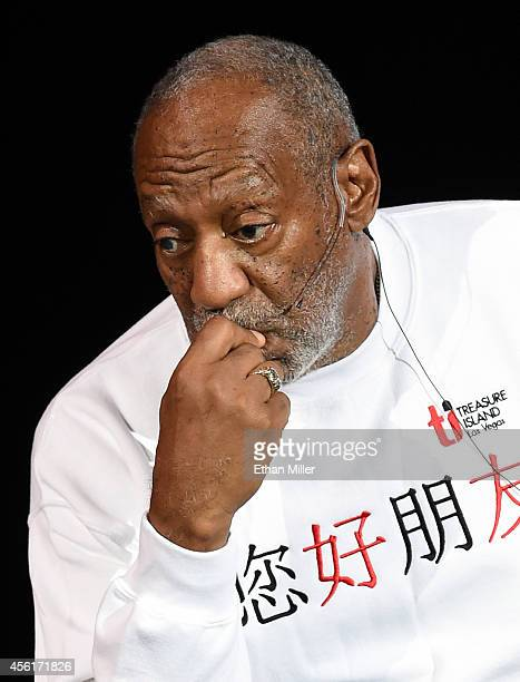 Comedian/actor Bill Cosby performs at the Treasure Island Hotel Casino on September 26 2014 in Las Vegas Nevada