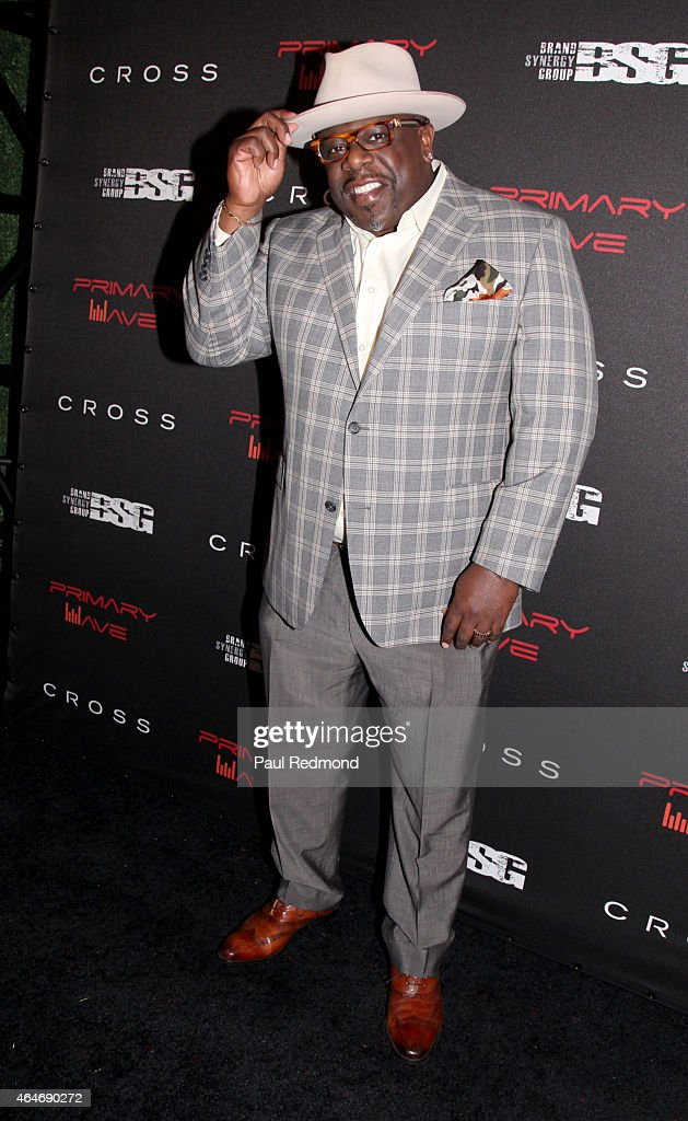 Comedian/actor Cedric the Entertainer attending Primary Wave 9th Annual Pre-Grammy Prty at RivaBella on February 7, 2015 in West Hollywood, California.