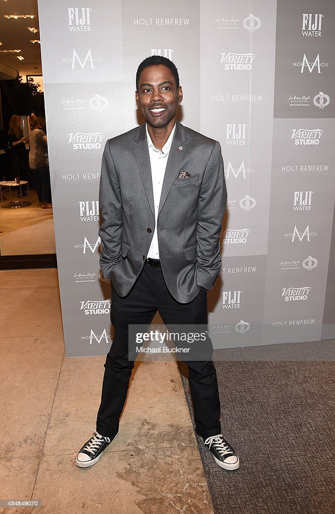 Comedian/actor Chris Rock attends the Variety Studio presented by Moroccanoil at Holt Renfrew during the 2014 Toronto International Film Festival on...