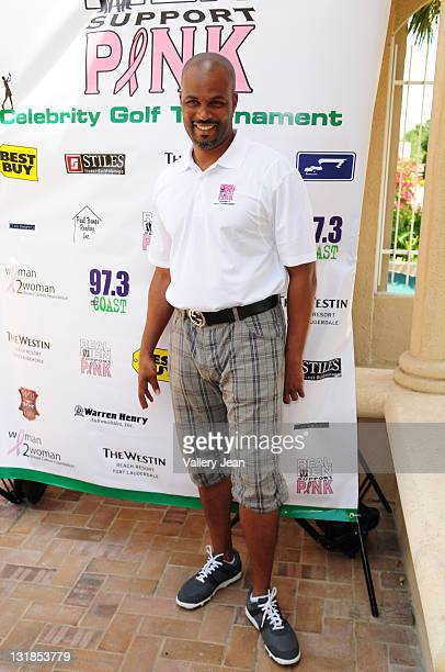 Comedian/Actor Chris Spencer participates in Real Men Support Pink Celebrity Golf Tournament to benefit The Woman2Woman Breast Cancer Foundation on...