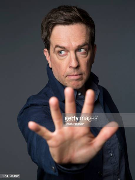 Comedian/actor Ed Helms is photographed on April 23 2017 in New York City