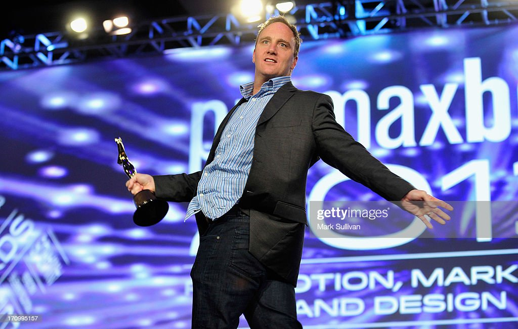 Comedian/actor <a gi-track='captionPersonalityLinkClicked' href=/galleries/search?phrase=Jay+Mohr&family=editorial&specificpeople=211563 ng-click='$event.stopPropagation()'>Jay Mohr</a> doing his standup comedy routine before hosting PromaxBDA Promotion, Marketing And Design Awards Show at JW Marriott Los Angeles at L.A. LIVE on June 20, 2013 in Los Angeles, California.