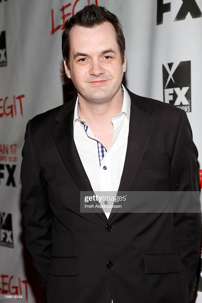 Comedian/actor Jim Jefferies attends the screening of FX's new comedy series 'Legit' on January 14, 2013 in Los Angeles, California.