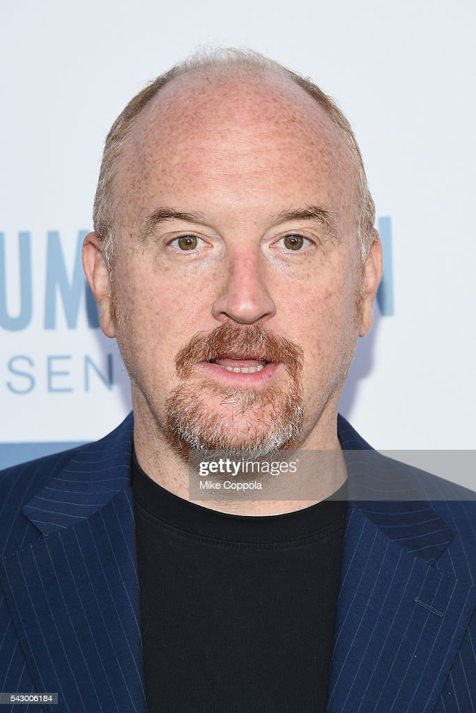 Comedian/actor Louis C.K.(L) attends 'The Secret Life Of Pets' New York Premiere at David H. Koch Theater at Lincoln Center on June 25, 2016 in New York City.