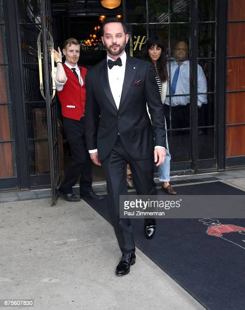 Comedian/actor Nick Kroll is seen leaving the Bowery Hotel on May 1 2017 in New York City