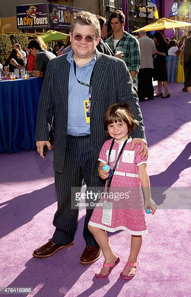 Comedian/actor Patton Oswalt and daughter Alice attend the Los Angeles Premiere and Party for Disney•Pixar's INSIDE OUT at El Capitan Theatre on June...