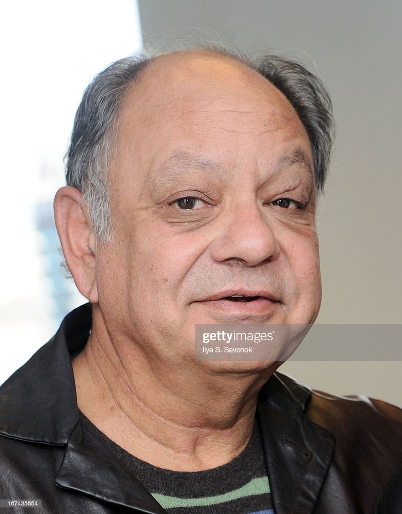 Comedian/Actor Richard 'Cheech' Marin visits the SiriusXM Studios on April 25, 2013 in New York City.