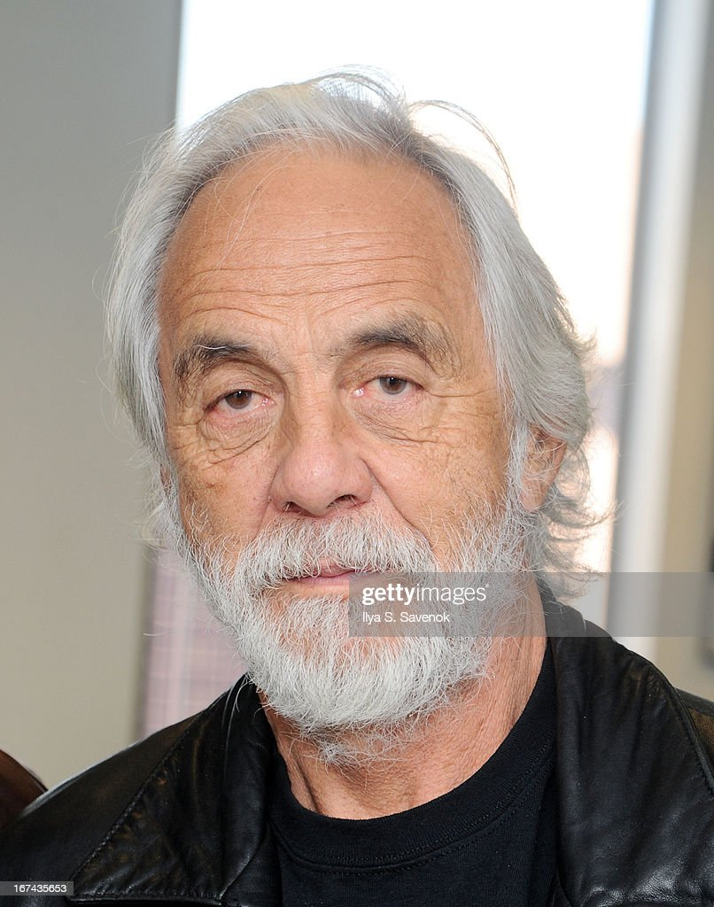 Comedian/actor Tommy Chong visits the SiriusXM Studios on April 25, 2013 in New York City.